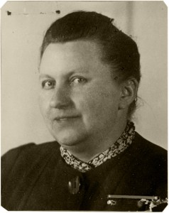 Elisabeth Wetzel, a prison warden in the 1940's, one of many of Jenny Iller's rescuers. © Institut für Stadtgeschichte, Frankfurt am Main
