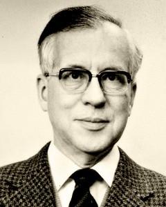 F. David (Fritz) Hoeniger als Doktorand (Aufnahme Ende der 40er Jahre) © Ruth H. Stern