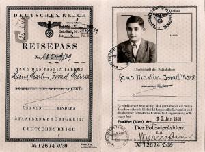 Hans Marx reist mit seiner Schwester Ruth im März 1940, unterstützt von den Quäkern, in die USA aus. © Privatbesitz Waltraud Beck