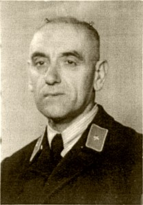 Police sergeant Otto Kaspar (photo from the late 1940s). © Institut für Stadtgeschichte, Frankfurt am Main