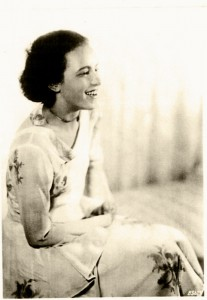 Genia Kurz. (photo from 1930/31) © Collection Petra Bonavita