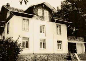"The house ""Am Wildenstein"" in Büdingen was a NS Children's Home during the 1940's. Hedwig Wittekind found here a place for Tanja. (photo post-1945) © Stadtarchiv Büdingen"