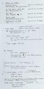 Liste der Frankfurter Retter, die der amerikanische Politologe Dr. Manfred Wolfson 1964 erstellt. © Gedenkstätte Deutscher Widerstand Berlin